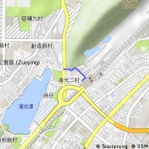 新左營站支線(西向)