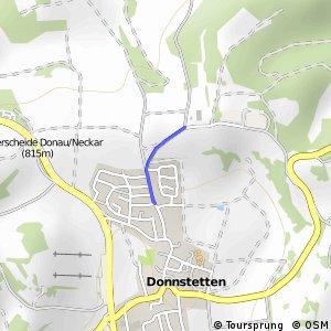 Deutsche Fachwerkstraße Abschnitt Donnstetten-Tübingen