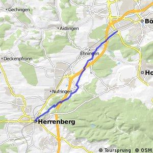 Deutsche Fachwerkstraße Abschnitt Herrenberg-Bietigheim