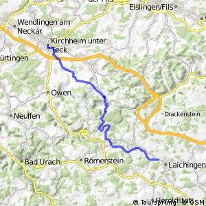 Deutsche Fachwerkstraße Abschnitt Kirchheim-Blaubeuren