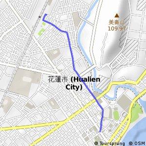 花蓮車站支線(東向)