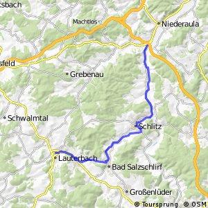 Hessischer Radfernweg R7a