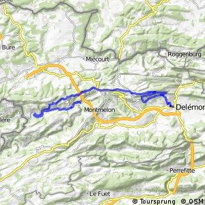 Jura Bike - Étape 3 (Délemont-St-Ursanne)