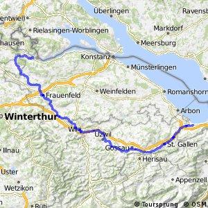 rcn 33 - Kartäuser-Fürstenland-Route (Stein am Rhein-Rorschach)