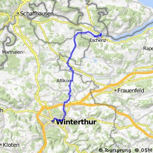 rcn 45 - Etappe 1 (Stein am Rhein-Winterthur)