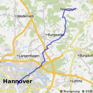 Fahrradregion Hannover - Regionsroute 10