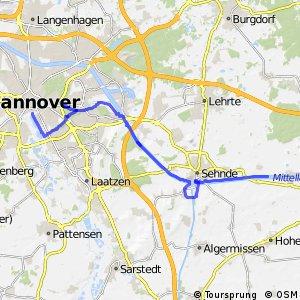 Fahrradregion Hannover - Regionsroute 13