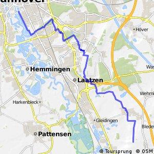 Fahrradregion Hannover - Regionsroute 14