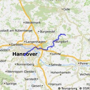 Fahrradregion Hannover - Regionsroute 11