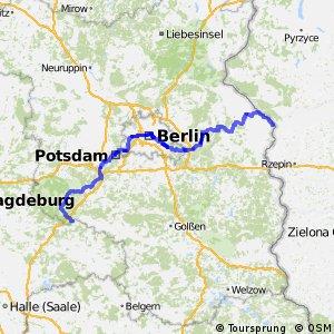 D3 D-Netz-Route (Brandenburg und Berlin)