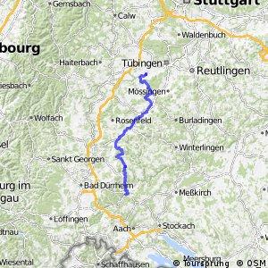 Hohenzollern-Weg Abschnitt Rottenburg-Tuttlingen
