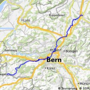 rcn 34 - Etappe 2 (Laupen-Burgdorf (Kirchberg))
