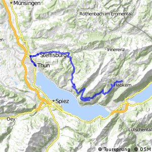 Panorama Bike - Etappe 10 (Habkern–Thun)