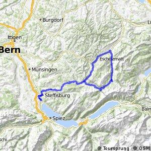 ncn 4 - Etappe 5 (Sörenberg–Thun)